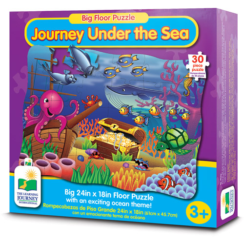 The Learning Journey Big Floor Puzzle, Journey Under the Sea