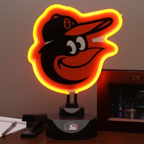Baltimore Orioles Team Logo Neon Light - No Size