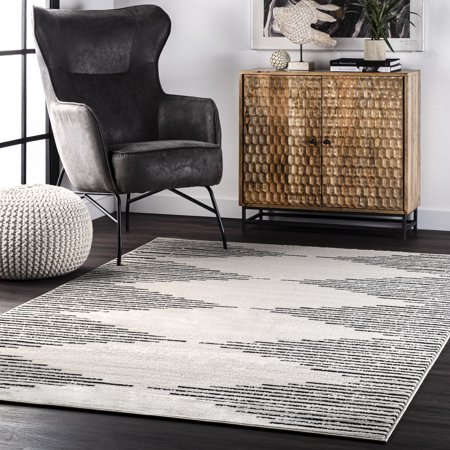 5x8 nuLOOM Romina Diamond Pinstripes Area Rug Now $42.09 (Was $95)