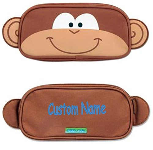 Personalized Silly Monkey Pencil Case