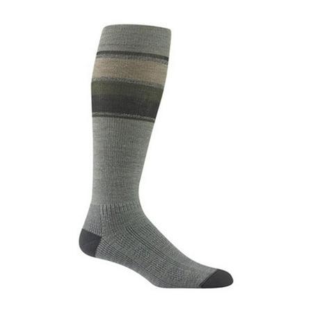 Wigwam Made In USA Tall Trekker Fusion Socks Urban Chic Unisex Large