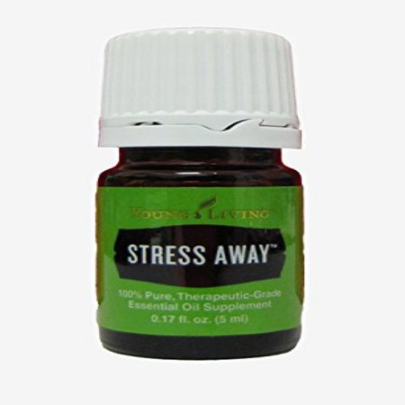 Young Living Stress Away Essential Oil 5 ml (Young Living Essential Oils For High Blood Pressure)