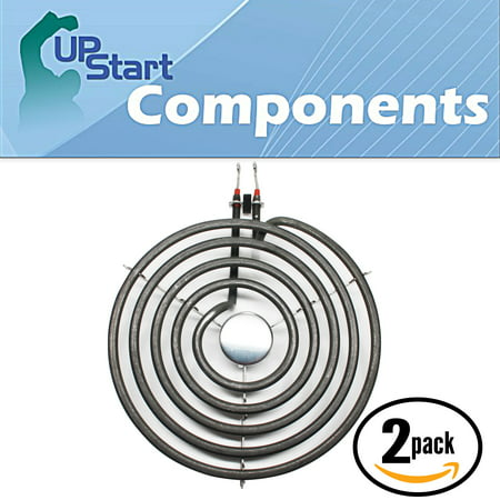 2-Pack Replacement Whirlpool RF263LXTQ3 8 inch 5 Turns Surface Burner Element - Compatible Whirlpool 9761345 Heating Element for Range, Stove & Cooktop - image 4 of 4