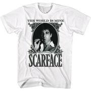 Scarface DOLLARFACE Large Cotton T-shirt White Adult Men's Unisex Short Sleeve T-shirt