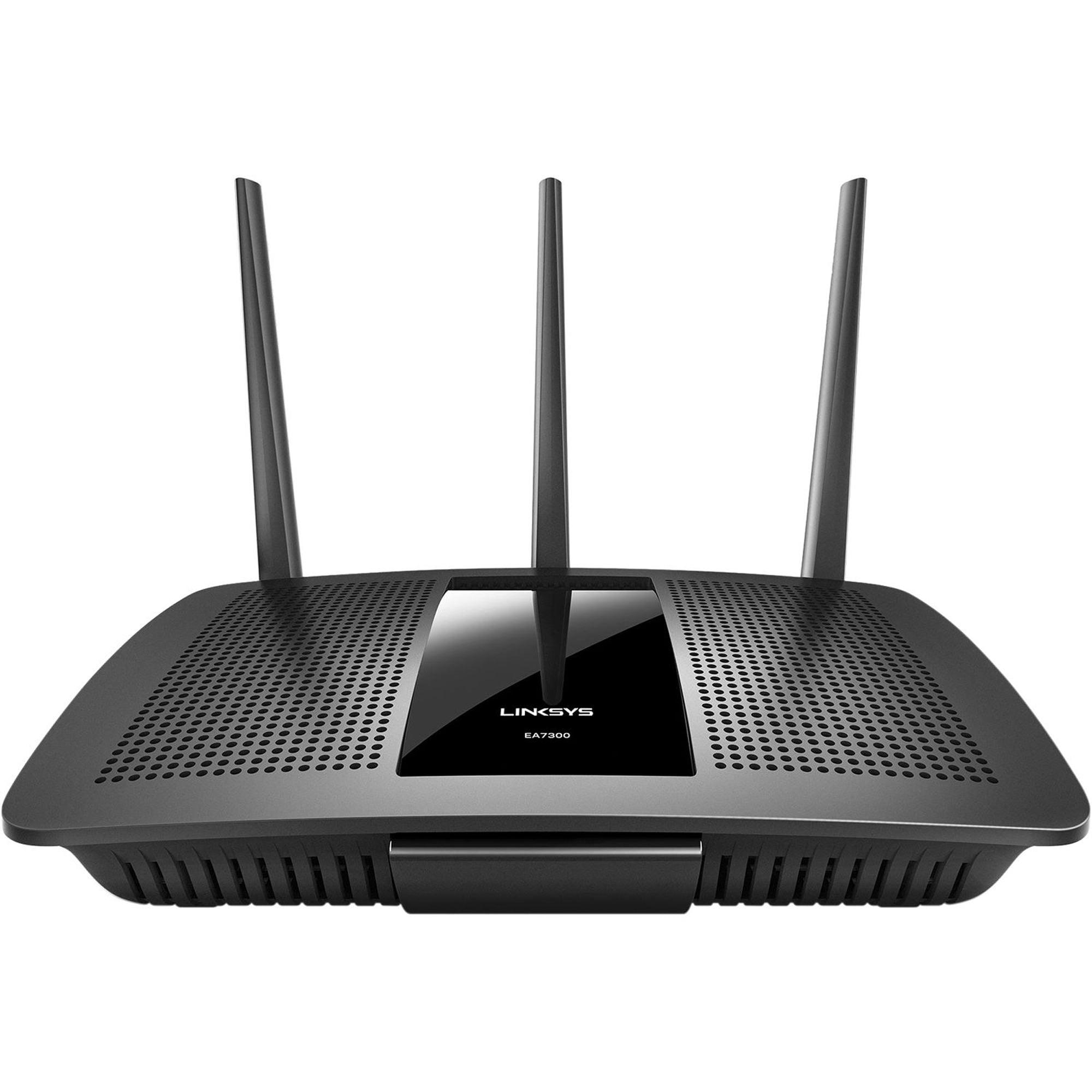 Linksys EA7300 MAX-STREAM AC1750 MU-MIMO Gigabit WiFi Router (Certified Refurbished)