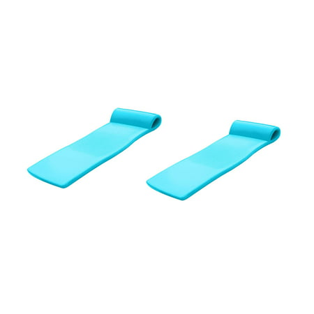TRC Recreation Sunsation 70 Inch Foam Raft Lounger Pool Float, Teal (2 Pack) - image 6 of 6
