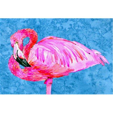 Carolines Treasures 8686PLMT Flamingo Fabric Placemat - image 1 de 1