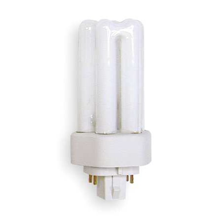 GE LIGHTING Plug-In CFL,13W,Dimmable,4100K,17,000 hr F13TBX/841/A/ECO