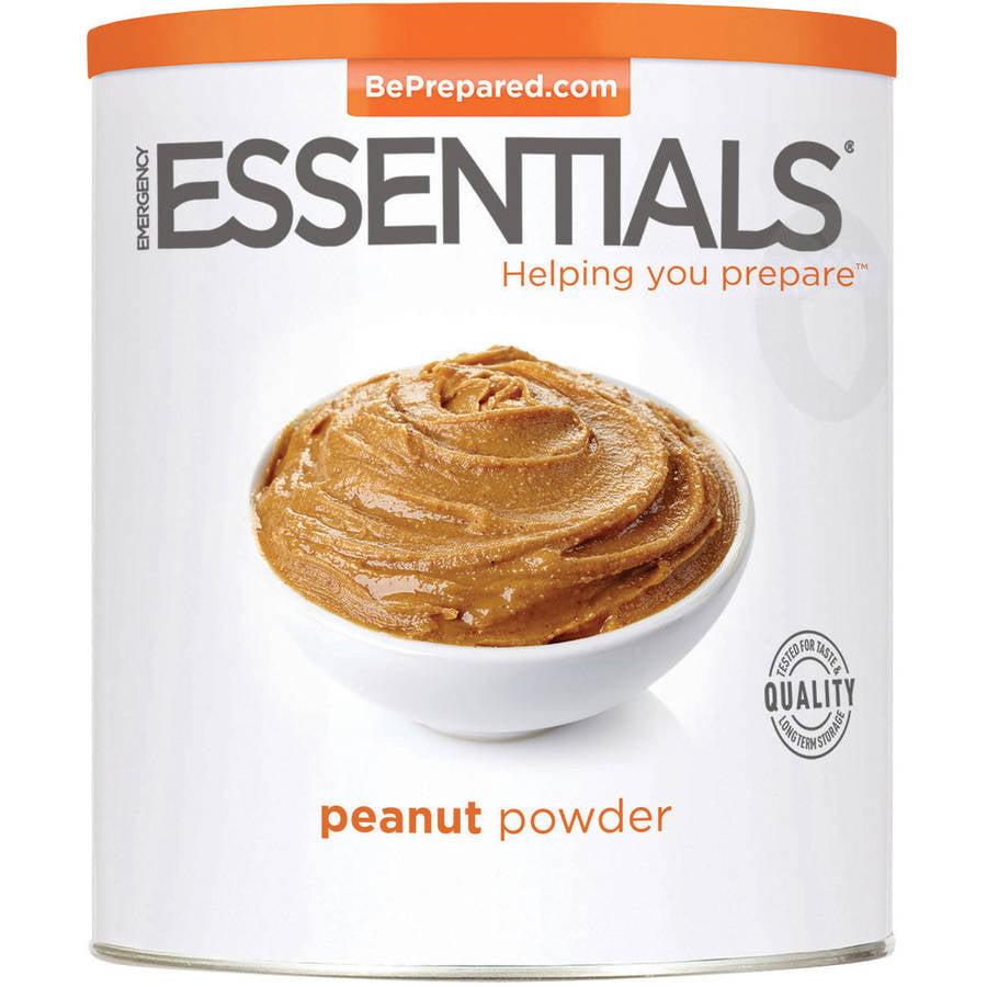 Emergency Essentials Food Peanut Powder, Large Can, 28 oz