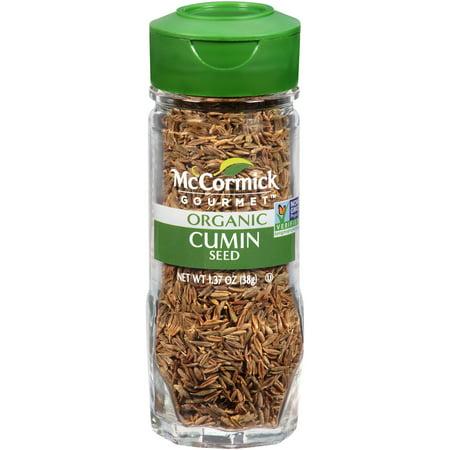 McCormick Gourmet Organic Cumin Seed, 1.37 -