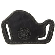 "Bulldog Cases Leather ""Lay Flat"" Holster Fits Most Small & Med Frame Semi-Autos (Ruger LCP, Glock 42&43, 1911s etc.)"