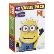 Betty Crocker Despicable Me Fruit Flavored Snacks, 0.8 Oz., 20 Count