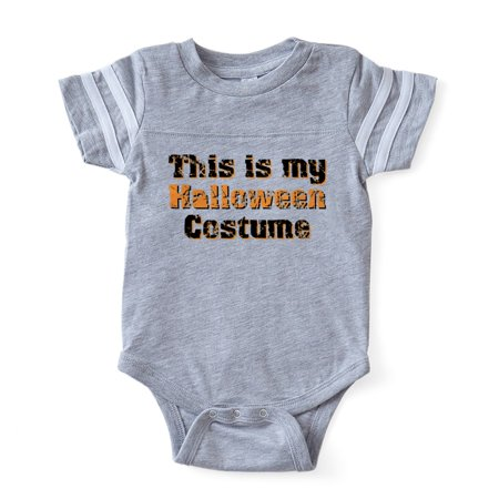 CafePress - My Halloween Costume - Cute Infant Baby Football Bodysuit - Johnny Football Halloween Date