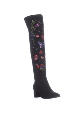 3bf0d06a5943 Product Image Womens Impo Judy Embroidery Over The Knee Boots