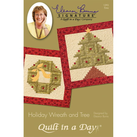 Eleanor Burns Patterns-Holiday Wreath & Tree Quilt