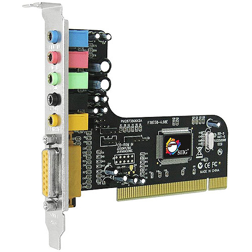 SIIG SoundWave 5.1 Channel PCI Sound Card