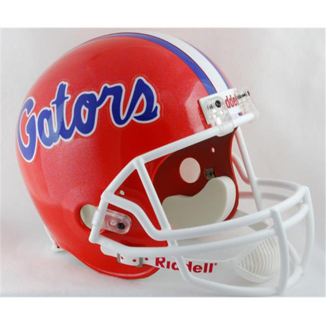 Creative Sports Enterprises  Inc RC-GATORS-R Florida Gators Riddell Full Size Deluxe Replica Football Helmet