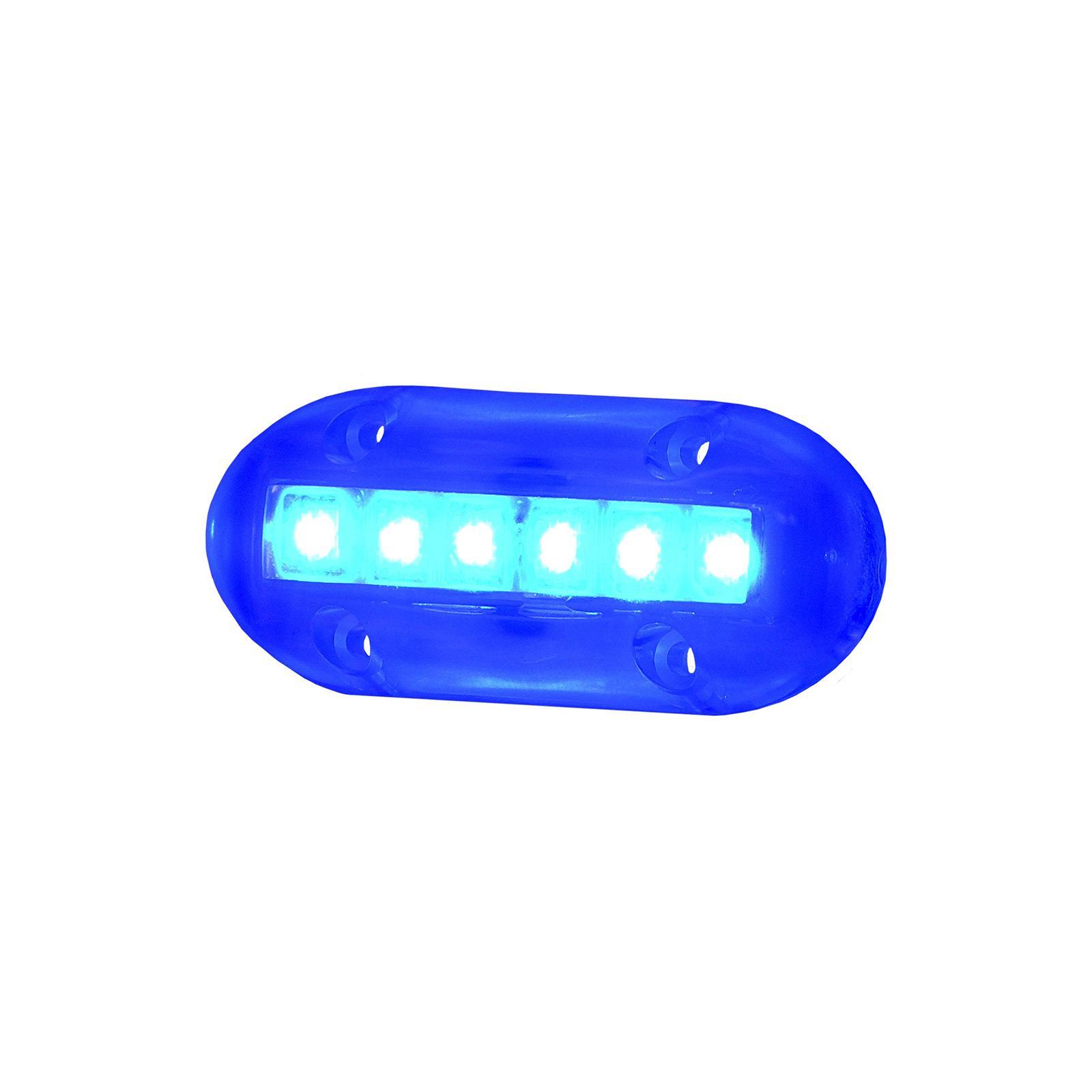 Invincible Aqua Brite LED Underwater Suface Mount 6 Diode, BR51089