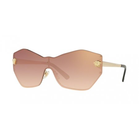 Versace 2182 Glam Medusa Shield Sunglasses 12526F (Versace Sunglasses Review)