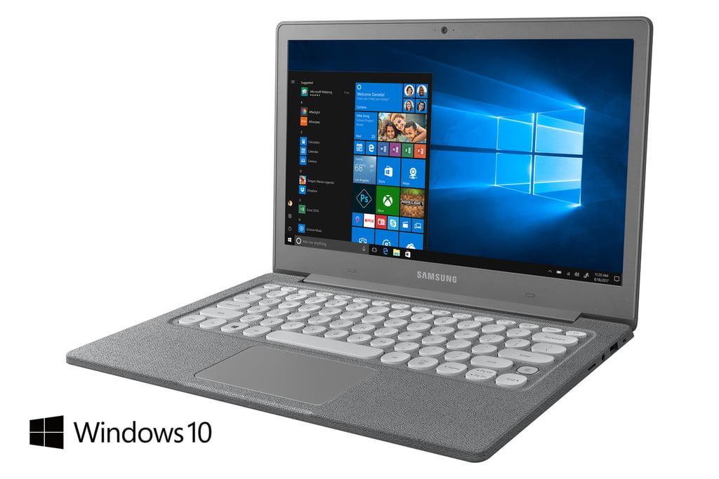 """SAMSUNG Notebook Flash 13.3"""" Full HD, Intel Celeron Silver Processor N4000, 4GB DDR4, 64GB eMMC, Twill Charcoal - NP530XBB-K01US"""