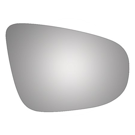 For 10-14 VOLKSWAGEN GOLF Right Passenger Side Convex Mirror Glass Only Power