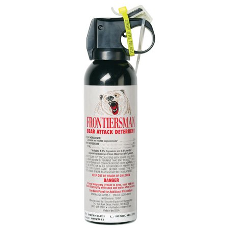 Frontiersman Bear Spray, Maximum Strength with 30' (9m) Range (7.9