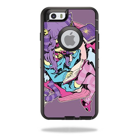MightySkins Skin Decal Wrap Compatible with OtterBox Sticker Protective Cover 100's of Color Options - Mermaid Evil