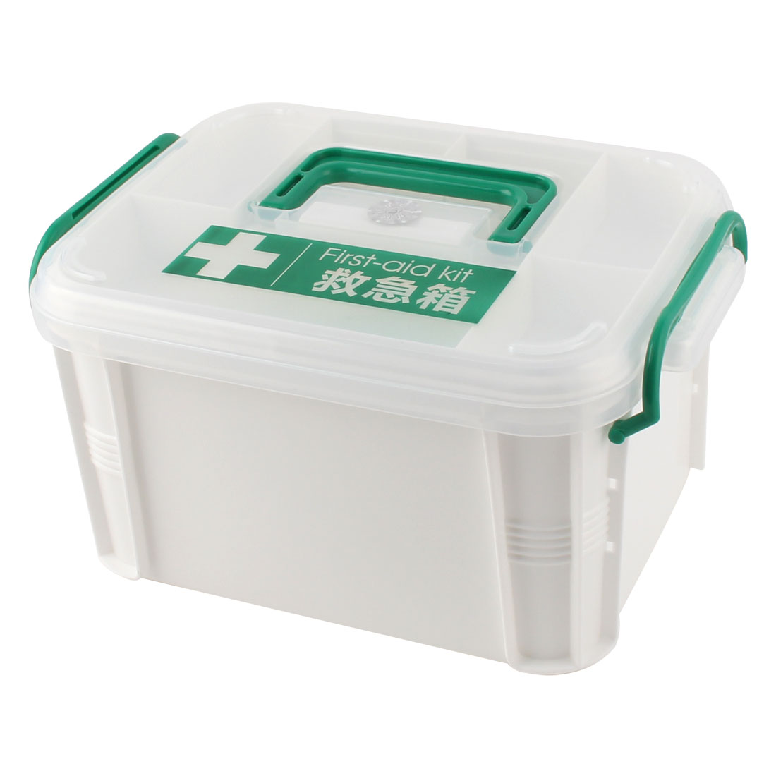 Portable Handheld Family Medicine Pill First Aid Kit Storage Box Case Organizer