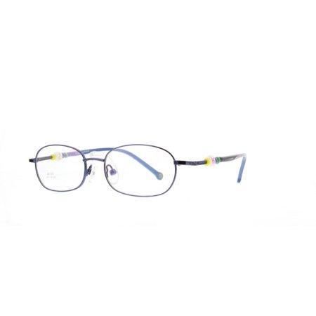 3cfa801a1de2 Eye Buy Express Kids Childrens Reading Glasses Blue Rounded Rectangular  Full Frame Anti Glare grade d5343 - Walmart.com