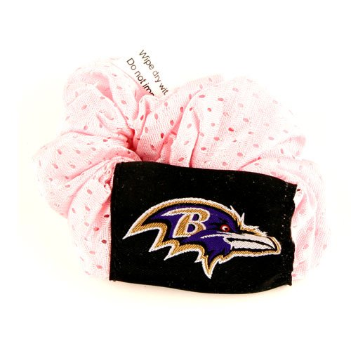 Baltimore Ravens Pink Hair Twist Ponytail Holder