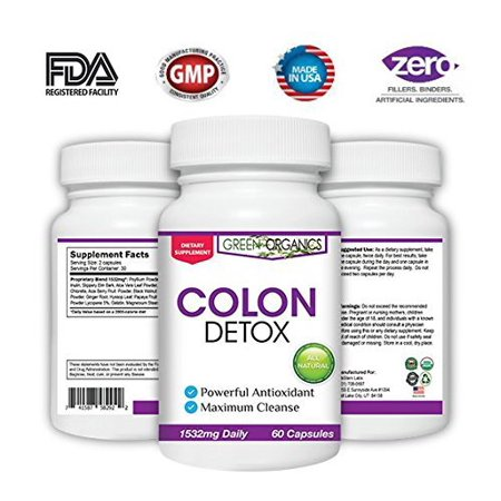 Organic Colon Cleanse   Detox   Weight Loss   Increased Energy Levels  Purification With Herbal  Nat