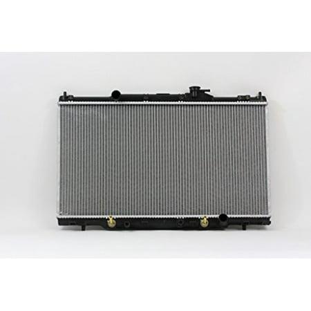 Radiator - Pacific Best Inc For/Fit 2443 02-06 Honda CRV 03-06 Element Plastic Tank Aluminum