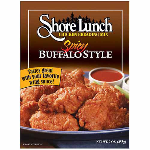 Shore Lunch Spicy Buffalo Style Braeding Mix