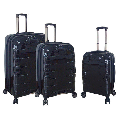 Travelers Polo & Racquet Club Super Durable 3 Piece Luggage Set
