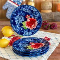The Pioneer Woman Heritage Floral Salad Plates, set of 4
