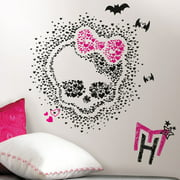 Monster High Heart Skullette Peel and Stick Wall Decals