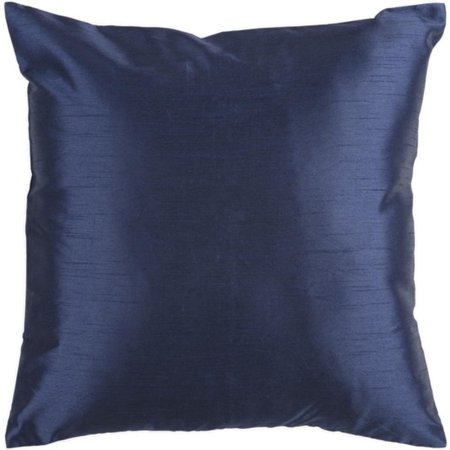 Solid Navy Blue Decorative Pillow : 18