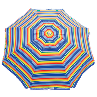 6 ft. Beach Umbrella with Integrated Sand Anchor