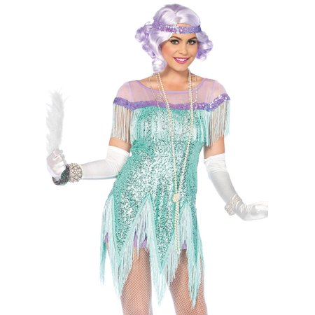 Leg Avenue Women's `Gatsby Flapper Dress Roarin' 20s Costume - Great Gatsby Attire For Women