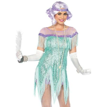 20s Style Suit (Leg Avenue Women's `Gatsby Flapper Dress Roarin' 20s)