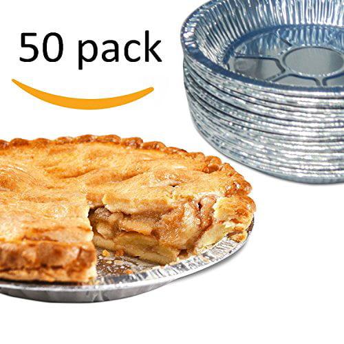 """Premium 9"""" Aluminum Foil Pie Pans. Disposable Tin Plates for Pies Tart Quiche. (Pack... by"""