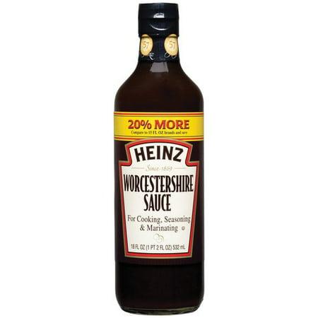 Heinz worcestershire sauce 18 fl oz for Low sodium fish sauce
