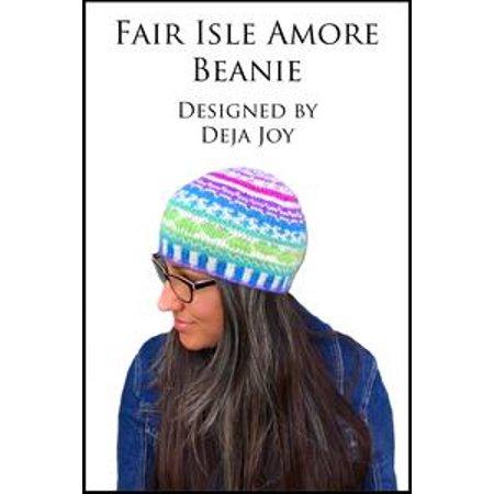 Fair Isle Amore Beanie - (Fair Isle Zip Front)