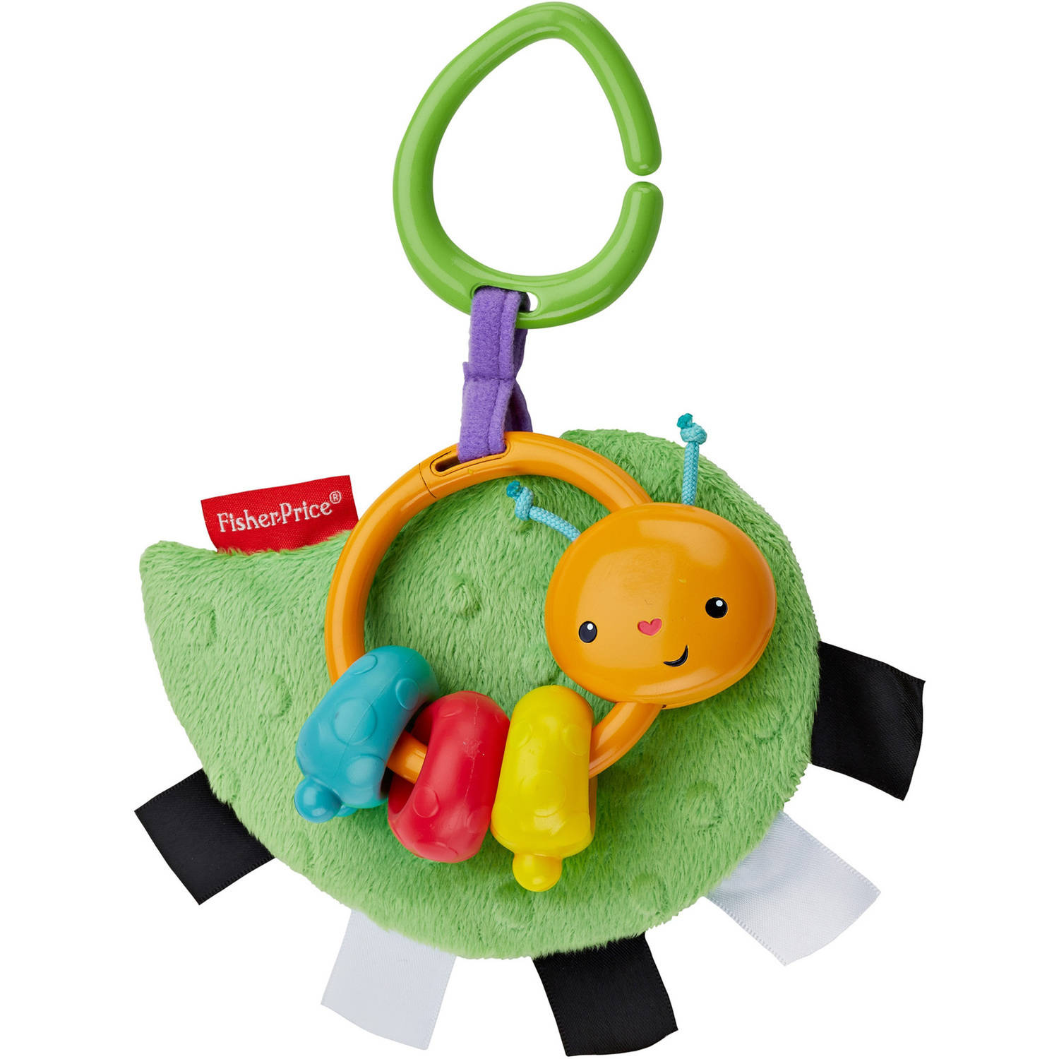 Fisher Price Crinkle 'N Clack Caterpillar by Fisher-Price