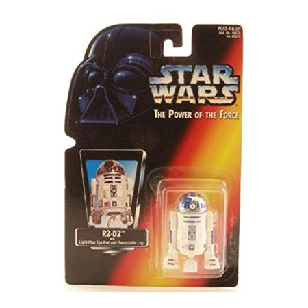 Star Wars, The Power Of The Force Red Card, R2-D2 Action Figure, 3.75 Inches - image 1 of 1