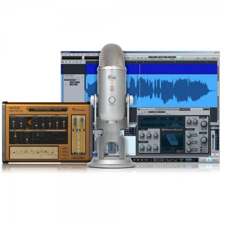 Yeti Studio Recording Pack w/ Microphone and Software (Studio Equipment For Music)