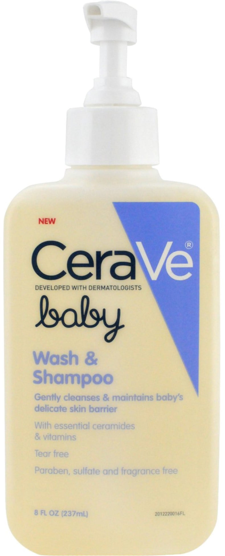 CeraVe Baby Wash and Shampoo, 8 oz (Pack of 6) by