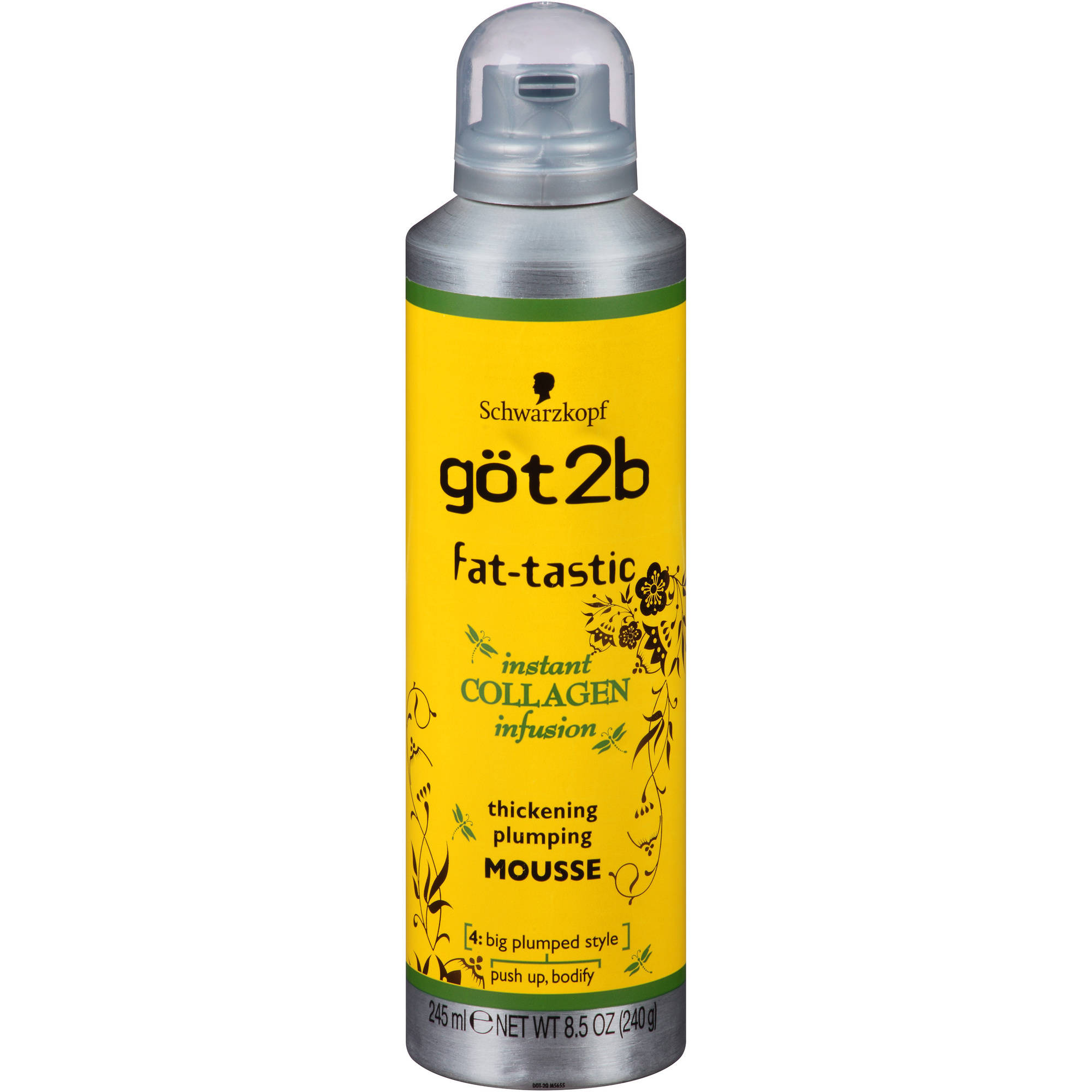 got2b Fat-Tastic Thickening Plumping Mousse, 8.5 oz