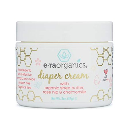 Diaper Rash Cream Natural & Organic - Extra Soothing Zinc Oxide Diaper Rash Treatment with Aloe Vera, Chamomile, Calendula, Rose Hip & More - for Dry, Sensitive, Irritated (Best Organic Diaper Rash Cream)