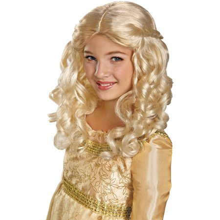 Aurora Wig Child Halloween Accessory](Childrens Rapunzel Wig)
